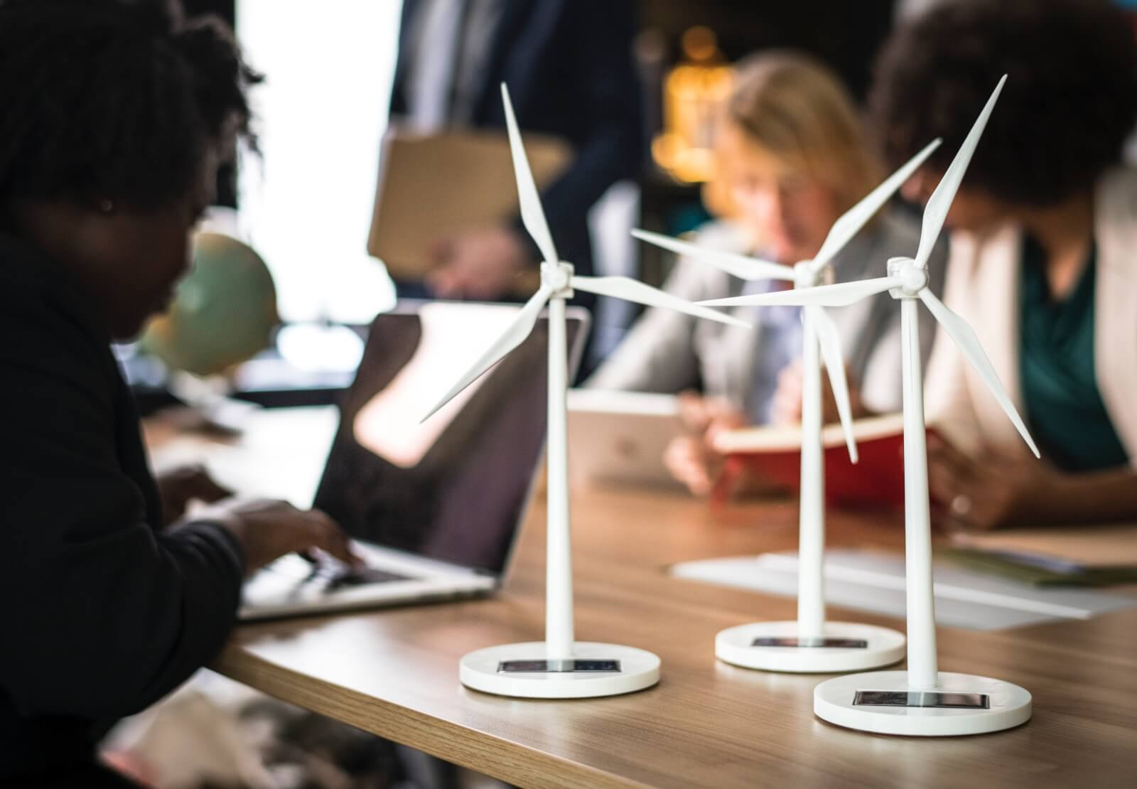 Renewable energy in offices