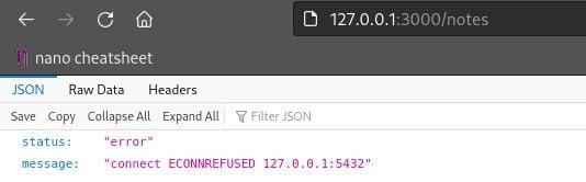 Containerizing a Node.js API
